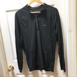 Patagonia Black Long Sleeve capeline Shirt